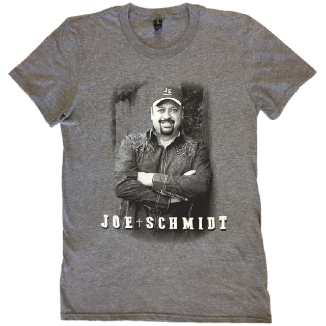 Joe Schmidt Heather Graphite Photo Tee